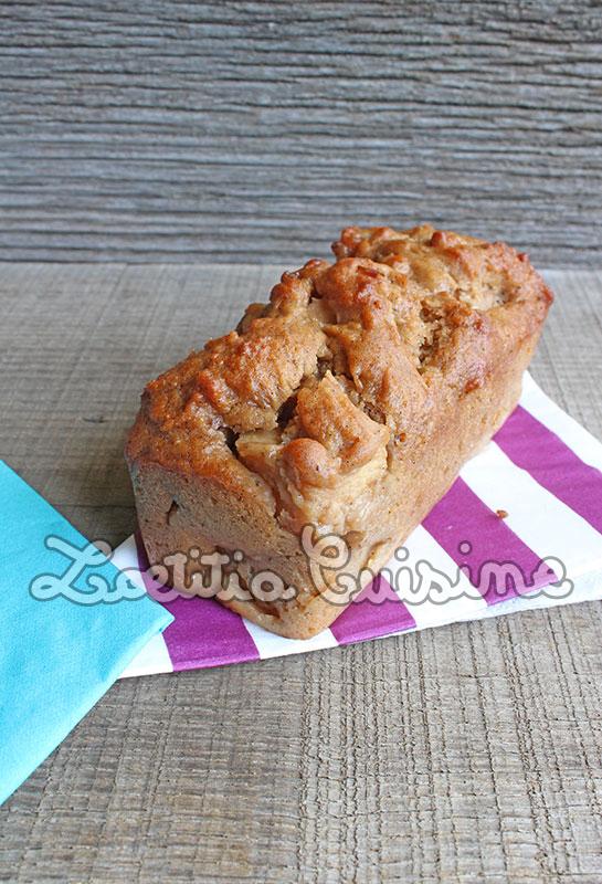 Gâteau aux pommes et épices pour pain d'épices