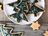 Biscuits sapin de Noëlvéganes